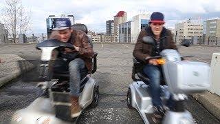 #73: Scootmobiel Racen [OPDRACHT]