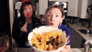 My Drunk Kitchen: Martha Stewart (CHEETOS) Stuffing! || Hannah Hart || Thanksgiving