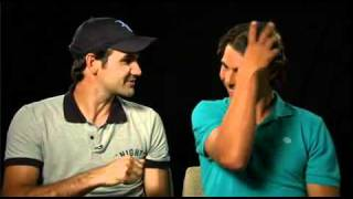 Roger Federer and Rafa Nadal can