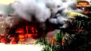 Kapoor Family Gets Shocked As Fire Breaks Out At RK Studios   Bollywood News