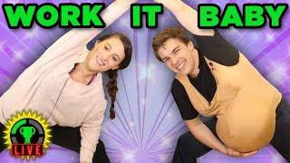 Work that BUMP, Baby! | Pregnancy Workout Challenge