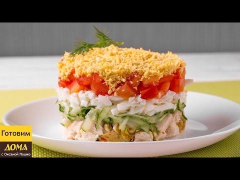 Самые вкусные рецепты салатов с с крабовыми палочками