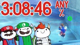 Super Mario Odyssey Speedrun w/JaidenAnimations & SomeThingElseYT