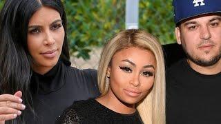 Kardashian - Jenner family reacts to Blac Chyna & Rob Kardashian engagement