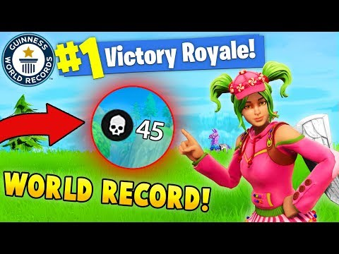 45 Kills World Record Teeqzy Vs Squad Fortnite Battle Royale