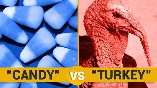 CANDY VS TURKEY - Google Trends Show