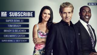 UNDISPUTED Audio Podcast (2.6.17) with Skip Bayless, Shannon Sharpe, Joy Taylor | UNDISPUTED