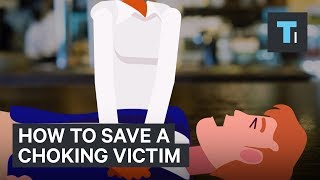 The best way to save a choking victim is no longer