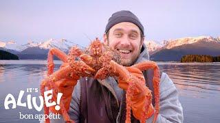 Brad Cooks Crabs in Alaska (Part 2) | It