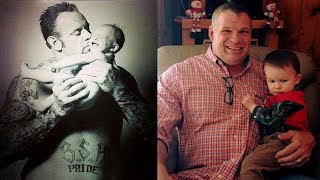 WWE Superstars The Undertaker & Kane Rare Family Photos