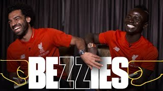 BEZZIES with Salah and Mane   Fastest? Best haircut? Coffee or Lovren?