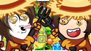 Zombey & GermanLetsPlay, die unsterblichen Affen! ☆ Bloons Tower Defense 5
