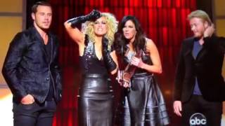 Little Big Town wins 2012 CMA group of the year