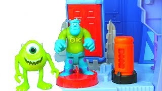 Imaginext Monsters University Scare Floor Playset with Sulley & Mike Monsters Scare Contest