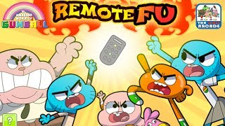 The Amazing World of Gumball: Remote Fu - Fight for your Right to Watch TV (Cartoon Network Games)