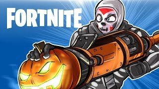 HALLOWEEN SFM ANIMATION & FORTNITE BR SOLO ROUND!