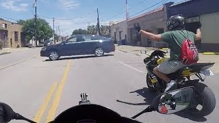 Stupid, Crazy & Angry People Vs Bikers | ROAD RAGE | Bad Drivers Caught On Go Pro [Ep.#123]