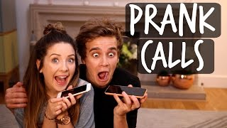 PRANK CALLS WITH MY SISTER