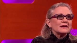 CARRIE FISHER naked and raw on SEX with HARRISON FORD Eddie Fisher LAST TV GUEST APPEARANCE