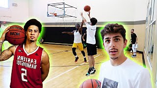 TRAINING FaZe Rug to BEAT AUSTIN MCBROOM! *ACE FAMILY EVENT*