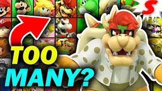 Are There TOO MANY Mario Characters in Super Smash Bros? I Don