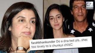 Farah Khan Makes Shocking Remark On Chunky Pandey