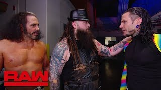 """Jeff Hardy comes face-to-face with """"Woken"""" Matt Hardy and Bray Wyatt: Raw, April 9, 2018"""