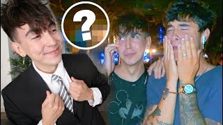 THIS SURPRISE MADE HIM CRY!!