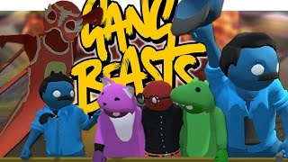 DAS WITZIGSTE SPIEL DER WELT!   Gang Beasts - Witzige Momente (Funny Moments German)