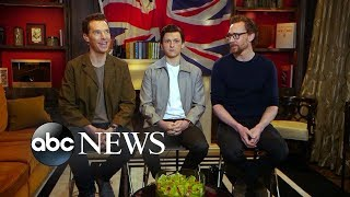 Benedict Cumberbatch, Tom Hiddleston and Tom Holland dish on