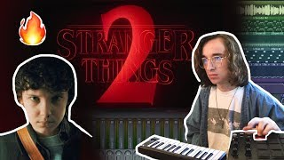 Turning the Stranger Things Theme into an AMAZING SONG!