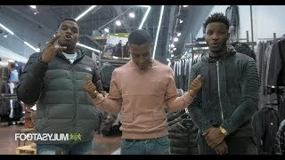 Shopping with: Lotto Boyzz and Yung Filly | Footasylum x Link Up TV