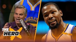 Colin Cowherd: Kevin Durant will be closer to Dirk Nowitzki