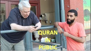 NON MUSLIMS LISTEN TO QURAN FOR THE FIRST TIME! (REACTION)