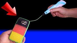 3D Stift - eine Samsung Galaxy edge Handy Hülle selber machen 🍎