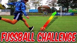 EXTREM GEILE FUßBALL CHALLENGE vs. kleinen BRUDER! ⚽⛔️⚽ - FUSSBALL CHALLENGES (DEUTSCH) - FIFAGAMING