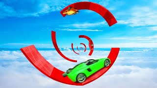 99,9% IMPOSSIBLE SPIRAL JUMPS! (GTA 5 Races)