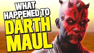 What Happened to Darth Maul After Star Wars: Episode I