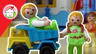 Playmobil Film deutsch Schnuppertag im Kindergarten / Kinderfilm / Kinderserie von family stories