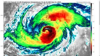 Thursday Evening Update on Hurricane Florence