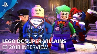 LEGO DC Super-Villains - Gameplay Demo | PlayStation Live From E3 2018