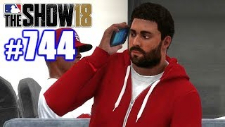 CALLING MY COACH FAT!   MLB The Show 18   Road to the Show #744