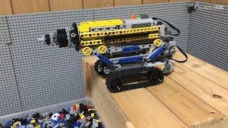 レゴで地中にもぐるマシンを作れるか?