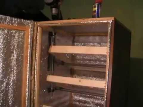 Инкубатор своими руками автоматический переворот яиц видео