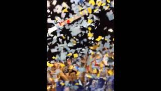 UCLA Basketball Confetti Toss