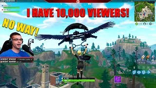 This kid CRIES after we win and then raid his stream! (10,000 viewers in his livestream)