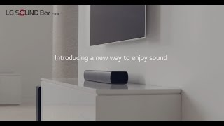 LG Sound Bar Flex SJ7 | Product Video