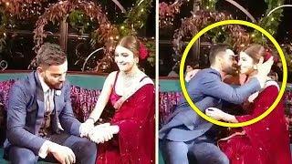 Emotional Virat Kohli CRIES In Front Of Anushka Sharma Night Before Wedding. Watch What Anushka Does