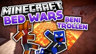 Beni trollen + Challenge! - Minecraft Bed Wars (Deutsch/German)