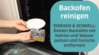 Backofen schnell und effektiv reinigen mit Natron